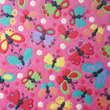Butterfly Pink Super Soft Cuddle Fleece Fabric 63