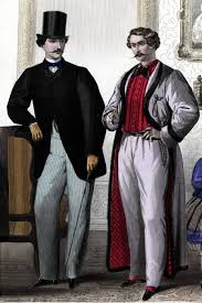 Mens Early Victorian Clothing 1850s