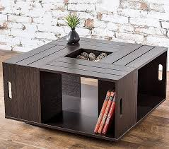 Diy Crate End Table Elegant Coffee Tables Pallet Plans Wood Ideas High