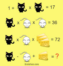 Halloween Brain Teasers Math by Brain Teaser Number And Math Puzzle Three Animals Math