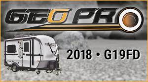 Rv Jackknife Sofa Craigslist by 2018 Forest River Rockwood Geo Pro G19fd Travel Trailer Rv For