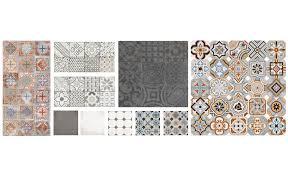 lino salle de bain maclou les motifs carreaux de ciment font leur grand retour