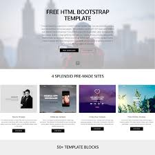 95 Free Bootstrap Themes Expected To Get In The Top 2018