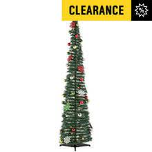 6ft Slim Black Christmas Tree by Christmas Trees Argos
