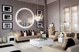 modern style spiegel wohnzimmer dekoration ideen