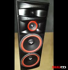 cerwin vega xls215 dual 15 3 way floorstanding tower speaker pair