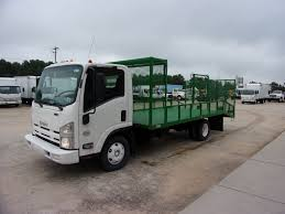USED 2011 ISUZU NPR HD LANDSCAPE TRUCK FOR SALE IN GA #1769