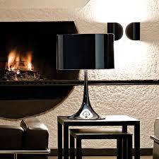 f2400030 flos foglio shiny black wall light