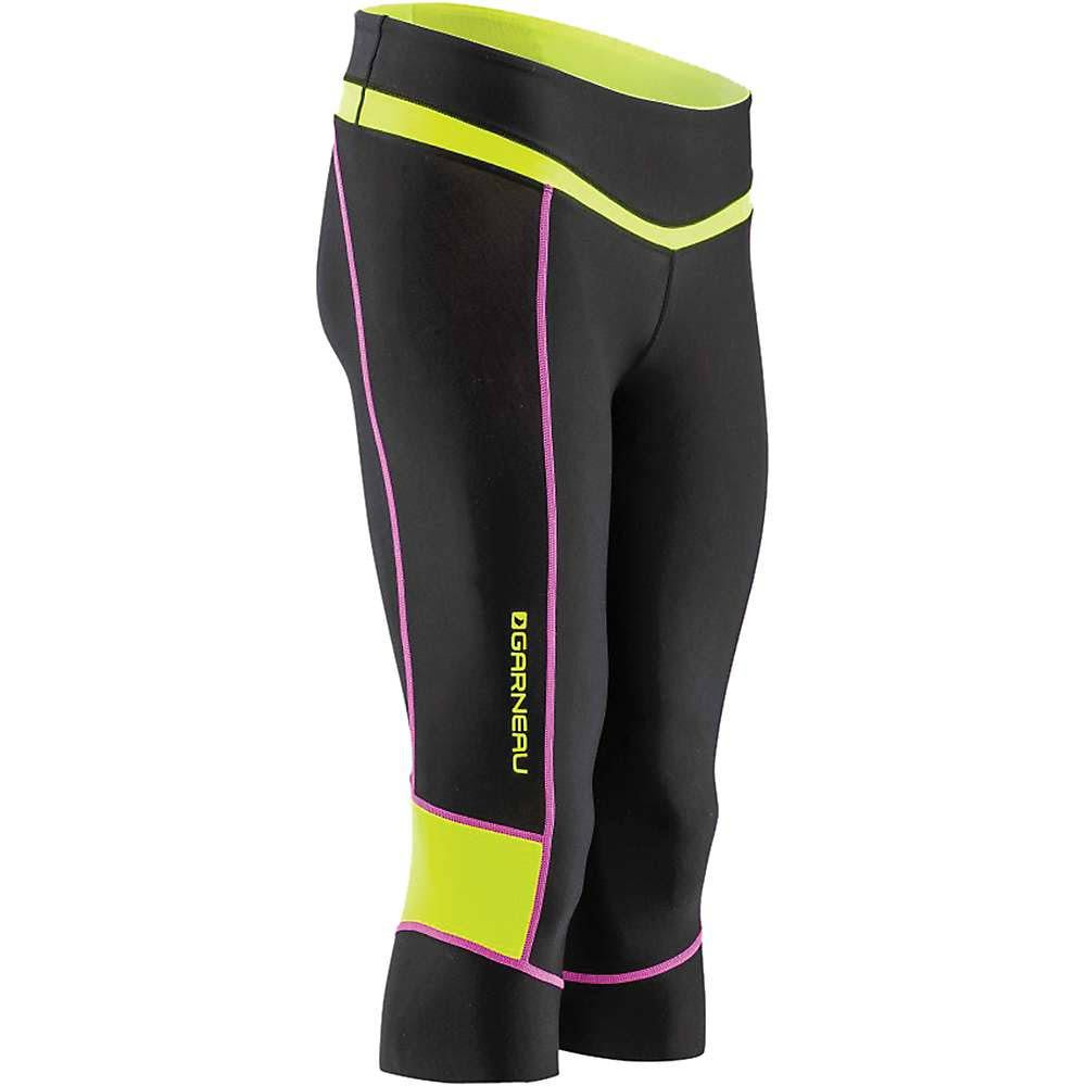 Louis Garneau Women's Neo Power Knickers Black / Bright Yellow L