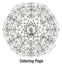 Welcome To My New Blog CK Galleria With Mandala Coloring Pages Pdf
