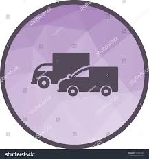 100 Icon Trucks Parked Stock Vector Royalty Free 1165031320 Shutterstock