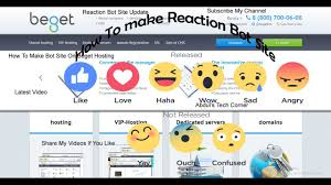 How To Make Reaction Bot Site On Beget Hosting (Latest Video ... Hosting Files And Videos For Your Membership Site Jessica Interface Panel Video Bad Not Popular Few How To Embed In Squarespace Websites Clipchamp Blog Videoshare Sharing Platform By Greenycode Codecanyon Vtube V12 Script Ecodevs Icommercial Breakthrough Advertising Com Uk Editing Archives Vidmob Hosting Site Mnacho852 On Deviantart Flywheel Managed Wordpress Review Wpexplorer Codycross Planet Earth Image Video Bought Benefits Of Choosing An Your Social Network Online Choices What They Mean