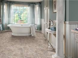 Tiling A Bathroom Floor Around A Toilet by Vinyl Low Cost And Lovely Hgtv