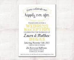 Post Wedding Reception Invitations Also Rustic Burlap Linen Or Elopement