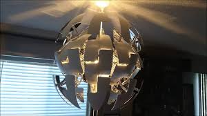 Hanging Chain Lamps Ikea by How To Install Or Replace A Light Fixture Ikea Ps 2014 Youtube