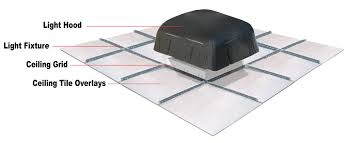 Black Ceiling Tiles 2x4 Amazon by Privacyshield Ceiling Tile Barrier Acoustical Solutions