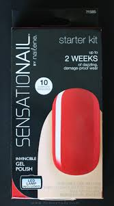 sensationail gel starter kit review nemo s nail and beauty obsession