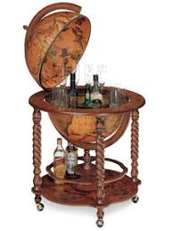 noble meridian italian globe bar cabinet free shipping usa canada