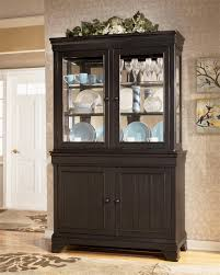 Ashley Furniture Louden China Cabinet Black Dining Rooms Room Buffet