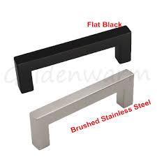 Black Dresser Drawer Knobs by Online Get Cheap Stainless Steel Door Handle Black Aliexpress Com