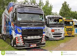 100 Show Trucks Row Of Finnish Editorial Photography Image Of Group