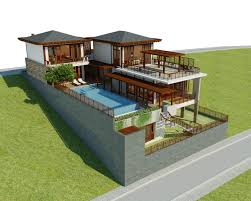 100 Contempory House Luxury Contemporary 3D Model