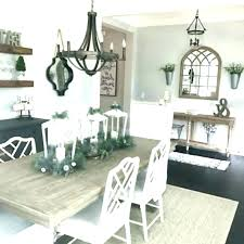 Farmhouse Dining Room Decor Di Ideas Wall Chandelier And Tips