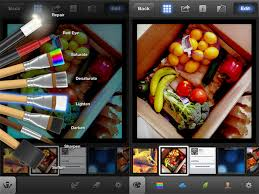 Review i for iOS out does Adobe for mobile image editing
