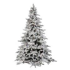 75 Flocked Slim Christmas Tree by 4 Ft Flocked Christmas Tree Wayfair