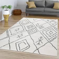 esszimmer teppich design skandi ethno abstrakt
