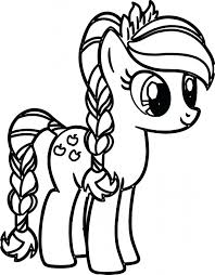 My Little Pony Friendship Is Magic Coloring Games Online Cartoon Page Pages Free