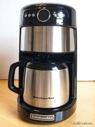 Kitchen Aide Coffee Pots Maker 4 Cup Creamy Gingerbread And Makers Tea Kitchenaid