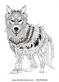 Wolf Coloring Pages 85