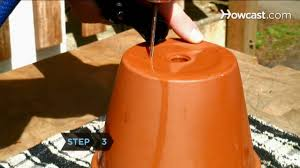 Drilling Through Ceramic Tile by How To Drill Drainage Holes For Container Gardening Youtube