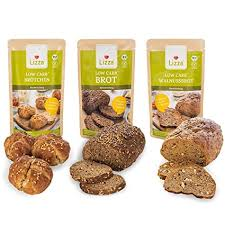 lizza low carb brot mix 3x 250g backmischungen in 3