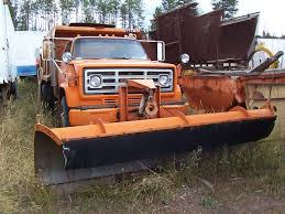 100 Truck With Snow Plow For Sale 1985 GMC Removal