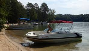 Hurricane Fun Deck 201 by Pontoon Boat Rentals Piedmont Sc