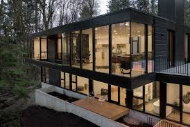 100 Modern House.com Portland Homes On The Market See Through Walls Frame The Scenery Oregonlive Com