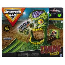 100 Zombie Truck Games Amazoncom Monster Jam Official Madness Playset Featuring