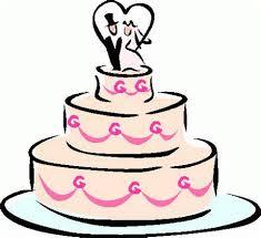 wedding cake clipart 3