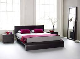 King Size Platform Bed With Headboard by Twin Size Platform Bed With Brown Fabric Upholstered Headboard