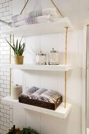 45 hanging bathroom storage ideas for maximizing your
