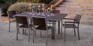 Fabulous Poly Outdoor Furniture Euro Dining Polywood Vermont Woods Studios