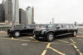 100 Limo Truck Trumps New Presidential Makes Debut At UN Time