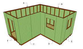 8x12 Storage Shed Ideas by 8 X 12 Modern Shed Plans