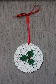 Christmas Ornament Hama Perler Beads By Alice