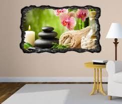kolekcje 3d wandtattoo wellness steine orchidee kerzen