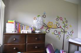 Owl Bedroom Wall Stickers by Owl Wall Decals For Kids U0027 Bedroom U2014 Jen U0026 Joes Design