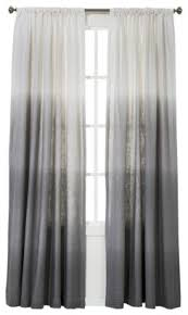 Blue Ombre Curtains Walmart by Ombre Grey Curtains Wabasso Canada Borealis Shower Curtain Liner