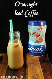 Pumpkin Iced Coffee Dunkin Donuts 2015 Calories by Overnight Iced Coffee Recipe I Can Cook That